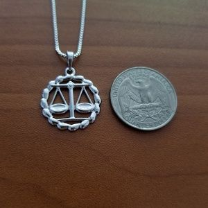 Other - Libra Zodiac Sign Unisex Necklace